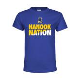 Youth Royal T Shirt-Nanook Nation