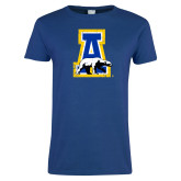 Ladies Royal T Shirt-A-bear Distressed