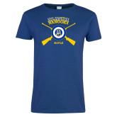 Ladies Royal T Shirt-Alaska Nanooks Rifle