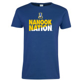 Ladies Royal T Shirt-Nanook Nation