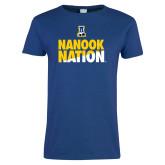 Ladies Royal T Shirt-Nanook Nation