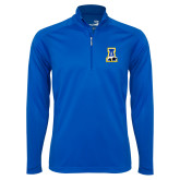 Syntrel Royal Blue Interlock 1/4 Zip-A-bear