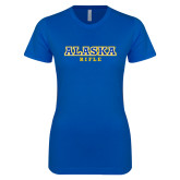 Next Level Ladies SoftStyle Junior Fitted Royal Tee-Rifle