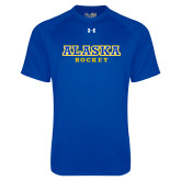 Under Armour Royal Tech Tee-Hockey