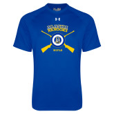 Under Armour Royal Tech Tee-Alaska Nanooks Rifle