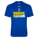 Under Armour Royal Tech Tee-Nanook Nation