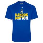 Under Armour Royal Tech Tee-Nanook Nation