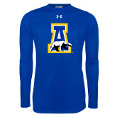 Under Armour Royal Long Sleeve Tech Tee-A-bear