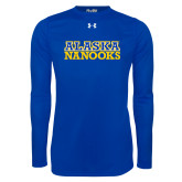 Under Armour Royal Long Sleeve Tech Tee-Alaska Nanooks