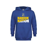 Youth Royal Fleece Hood-Nanook Nation
