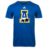 Adidas Climalite Royal Ultimate Performance Tee-A-bear
