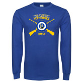Royal Long Sleeve T Shirt-Alaska Nanooks Rifle