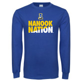 Royal Long Sleeve T Shirt-Nanook Nation