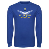 Royal Long Sleeve T Shirt-Swimming