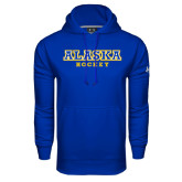Under Armour Royal Performance Sweats Team Hoodie-Hockey