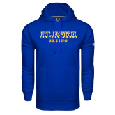 Under Armour Royal Performance Sweats Team Hoodie-Skiing