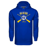 Under Armour Royal Performance Sweats Team Hoodie-Alaska Nanooks Rifle