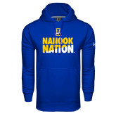 Under Armour Royal Performance Sweats Team Hoodie-Nanook Nation