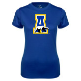 Ladies Syntrel Performance Royal Tee-A-bear