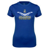 Ladies Syntrel Performance Royal Tee-Swimming