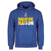 Royal Fleece Hoodie-Nanook Nation
