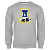 Grey Fleece Crew-A-bear