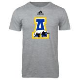 Adidas Sport Grey Logo T Shirt-A-bear