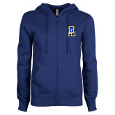 ENZA Ladies Royal Fleece Full Zip Hoodie-A-bear