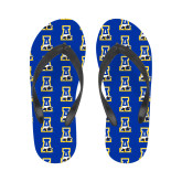 Ladies Full Color Flip Flops-A-bear