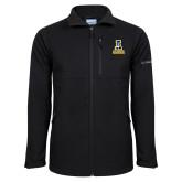 Columbia Ascender Softshell Black Jacket-Official Logo