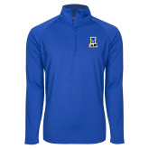 Sport Wick Stretch Royal 1/2 Zip Pullover-A-bear