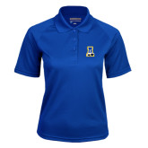 Ladies Royal Textured Saddle Shoulder Polo-A-bear