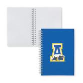 Clear 7 x 10 Spiral Journal Notebook-A-bear
