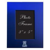 Royal Brushed Aluminum 3 x 5 Photo Frame-A-bear Engraved