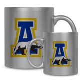 11oz Silver Metallic Ceramic Mug-A-bear