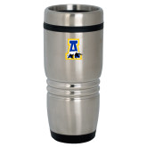 Rolling Ridges Silver Stainless Tumbler-A-bear