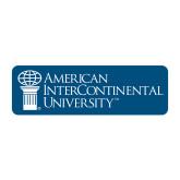 Medium Decal-American Intercontinental University, 8 in. wide