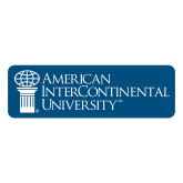 Large Decal-American Intercontinental University, 12 in. wide
