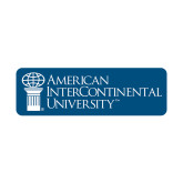 Small Decal-American Intercontinental University, 6 in. wide
