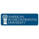 Extra Large Decal-American Intercontinental University, 18 in. wide