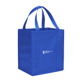 Non Woven Royal Grocery Tote-American Intercontinental University