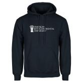 Navy Fleece Hoodie-American Intercontinental University
