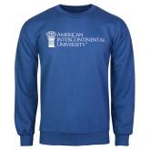 Royal Fleece Crew-American Intercontinental University