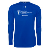 Under Armour Royal Long Sleeve Tech Tee-Admissions