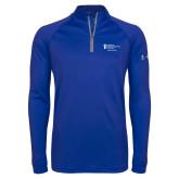 Under Armour Royal Tech 1/4 Zip Performance Shirt-Alumni Services