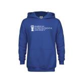 Youth Royal Fleece Hoodie-American Intercontinental University