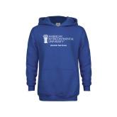 Youth Royal Fleece Hoodie-Alumni Services