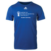 Adidas Royal Logo T Shirt-Student Advising