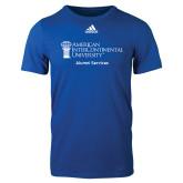 Adidas Royal Logo T Shirt-Alumni Services