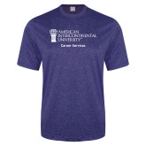 Performance Royal Heather Contender Tee-Career Services